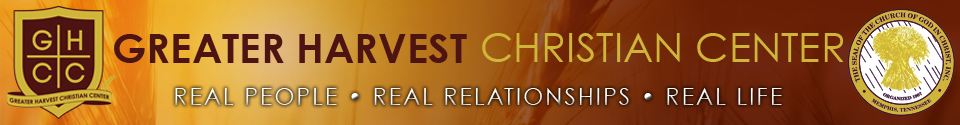 Greater Harvest Christian Center logo